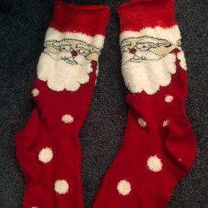 Santa clause crew length socks